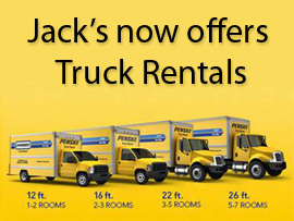 Jack's Rental now offers truck rentals from penske. Click to get a quote.